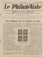LE PHILATELISTE - Revue Bimensuelle N°14- 1942  - Les Timbres De La Terre De Feu - - Libros, Revistas, Cómics