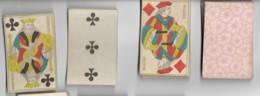 Jeu De 52 Cartes à Jouer Playing Cards Complet Pas De Jocker Date Du Jeu NAPOLEON III Filigrane Avec Tampon Decrêt  8 - Cartes à Jouer Classiques