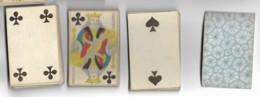 Jeu De 52 Cartes à Jouer Playing Cards Complet Pas De Jocker Date Du Jeu NAPOLEON III Filigrane Avec Tampon Decrêt  9 - Cartes à Jouer Classiques