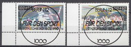 Bund BRD 1449-50 ER Sport 1990 Luxus Vollstempel Handball+Trimm Dich ESST  - BRD