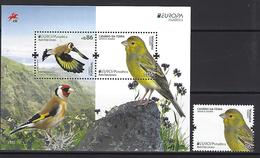 PORTUGAL - EUROPA 2019 - Stamp And Souvenir Sheet - Madeira - 2019