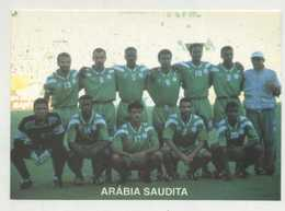 Soccer, Football, Arábia Saudita Selection Team  ( 2 Scans ) - Calcio