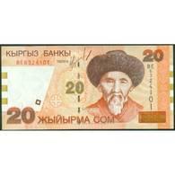 TWN - KYRGYZSTAN 19 - 20 Som 2002 Prefix BE UNC - Kirghizistan