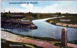 MYSLOWITZ- 552 1/5 - Dreikaiserreichsecke Bei Myslowitz. - Schlesien