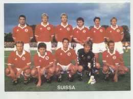Soccer, Football, Switzerland Selection Team  ( 2 Scans ) - Calcio