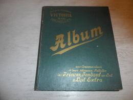 "Album  Chocolat  Chocolade "" Les Chocolats Victoria ""  85 Chromos Prenten -  Niet Kompleet - Koekelberg - Bruxelles - Albums & Catalogues"