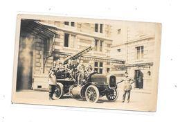 Photo Camion Sapeurs POMPIERS, - Pompieri