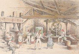 Barré & Dayez. Illustrateurs: Signé: P. Charlemagne. NICE (06). Une Noce Au Moulin à Huile. N°1471 A - Illustrateurs & Photographes
