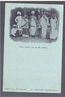 SURINAME Eene Familie Van De Br- Indiers Pre 1900 OLD POSTCARD - Surinam