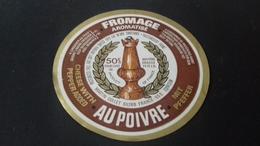 Etiquette De Fromage Aromatise Aux Poivres - Fromage