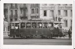Photo - Tramway à Nice - Motrice 2 Essieux - Rue Sarla - Lepante  - Assalit - Gare SNCF Magnan Carras - Trains