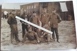 1914 1918 Quedlinburg Harz Prisonniers De Guerre Français Zouves 39 Eme RI  Tranchées Poilus 1914 1918 WW - Krieg, Militär
