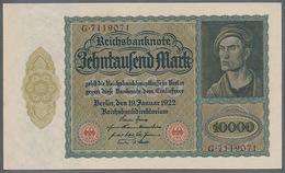 Pick 68b Ro 71 DEU-77 10000 Mark 1922 UNC ! - [ 3] 1918-1933: Weimarrepubliek