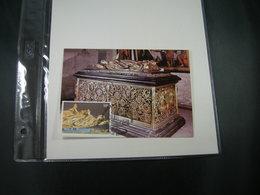 """BELG.1981 2020 FDC Maxicard (Brugge)   : """" Praalgraven/Mausolées Marie De Bourgogne & Charles De Stoute """" - 1981-90"""