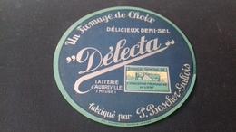 Etiquette De Fromage Delecta - Fromage