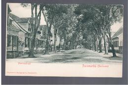 SURINAME Paramaribo - Heerenstraat Ca 1900 OLD POSTCARD - Surinam