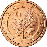 République Fédérale Allemande, 2 Euro Cent, 2004, SUP, Copper Plated Steel - Allemagne