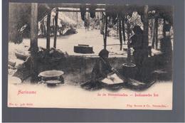 SURINAME In De Binnenlanden Indiaansche Hut Ca 1905 OLD POSTCARD - Surinam