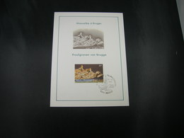 """BELG.1981 2020 FDC Philacard (Brugge)   : """" Praalgraven/Mausolées Marie De Bourgogne & Charles De Stoute """" - 1981-90"""