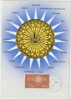 Carte-Maximum IRLANDE N° Yvert 146 (EUROPA 1960) Obl Sp 1er Jour - Cartoline Maximum