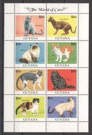 Guyana - Faune, Félins, Chats - BF 8 Val Neufs // Mnh - Guyane (1966-...)