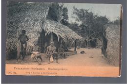 SURINAME Paranaribo - Boschnegerdorp Ca 1905 OLD POSTCARD - Surinam