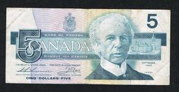 /  CANADA  5 DOLLARS   1986 - Canada