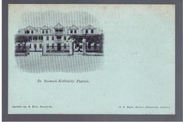 SURINAME Paranaribo - Roomsch- Katholieke Pastorie Pre 1900 OLD POSTCARD - Surinam