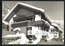 AK St. Jakob-St. Anton A. A., Gasthof Pension Friedheim Im Winter - Autriche