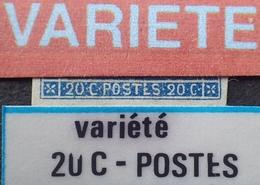 "R1917/169 - NAPOLEON III N°14A - PC 2199 : MULHOUSE (Haut Rhin) - VARIETE ➤➤➤ "" 20C . POSTES "" Défectueux - 1853-1860 Napoléon III"