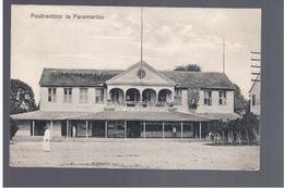 SURINAME Paranaribo - Postkantoor Ca 1915 OLD POSTCARD - Surinam