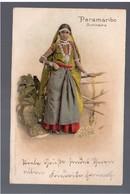 SURINAME Paranaribo - Nice Woman 1908 OLD POSTCARD - Surinam
