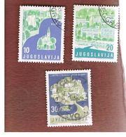 JUGOSLAVIA (YUGOSLAVIA)   - SG 917.922   -    1959  TOURISM  -   USED - Usati
