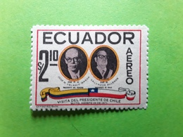 Ecuador / Équateur AEREO 1971, No 527, Visita Del Presidente De Chile Salvador Allende,  Neuf ** MNH TB - Celebrità