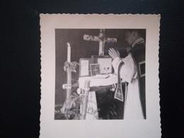 RÉVÉREND DOYEN DE YVOIR NAMUR WALLONIE SUR PHOTOS PETITS FORMATS LOT 14 PHOTOS - Personnes Identifiées