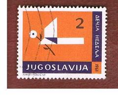 JUGOSLAVIA (YUGOSLAVIA)   - SG 1019   -    1961  OBLIGATORY TAX: CHILDREN' S WEEK    -   USED - 1945-1992 Repubblica Socialista Federale Di Jugoslavia