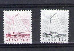 Aland. Série Courante. Bateaux De Pêche - Aland