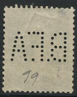 Perforé Semeuse 137 BFA 99 Indice 7 - France