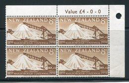 New Zealand  Sc# 329  Corner Block-4  Og  Mnh - New Zealand