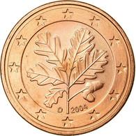 République Fédérale Allemande, 5 Euro Cent, 2004, SUP, Copper Plated Steel - Allemagne