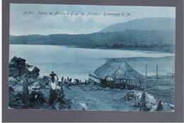 GUATEMALA  C.A. Puerto De Atitlan - Lago De Atitlan Nr 194 Ca 1910 OLD POSTCARD - Guatemala