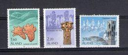 Aland. Série Courante. Motifs Historiques. 1986 - Aland