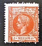 ALPHONSE XIII 1898 - NEUF * - YT 157 - MI 187 - Stamps