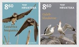 Kroatië / Croatia - Postfris / MNH - Complete Set Europa, Vogels 2019 - Kroatië