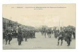 CPA 62 ARRAS EXERCICES DE DEBARQUEMENT DES SAPEURS CONDUCTEURS DU 3eme GENIE - Arras