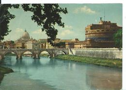 ///     ROMA   (   ITALIE )     PONT ET CHÂTEAU SAINT ANGE - Ponts