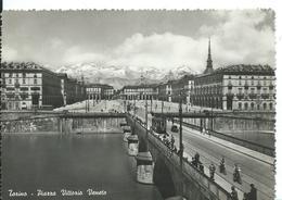 ///     TORINO   (   ITALIE )     PIAZZA VITTORIO VENETO - Ponts