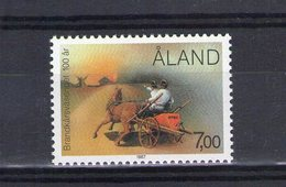Aland. Centenaire Du Corps Des Sapeurs Pompiers - Aland