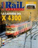 Revue RAIL PASSION N°57, Caravelles X 4300, Roanne-St Etienne, Fret SNCF, Valais, Nuremberg, Arlberg-Orient-Express - Spoorwegen En Trams