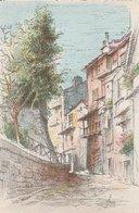 Barré & Dayez. Illustrateurs: Signé: P. Charlemagne. VILLEFRANCHE (06). Une Rue, Arbre Sur La Gauche. N°2312 J - Illustrateurs & Photographes